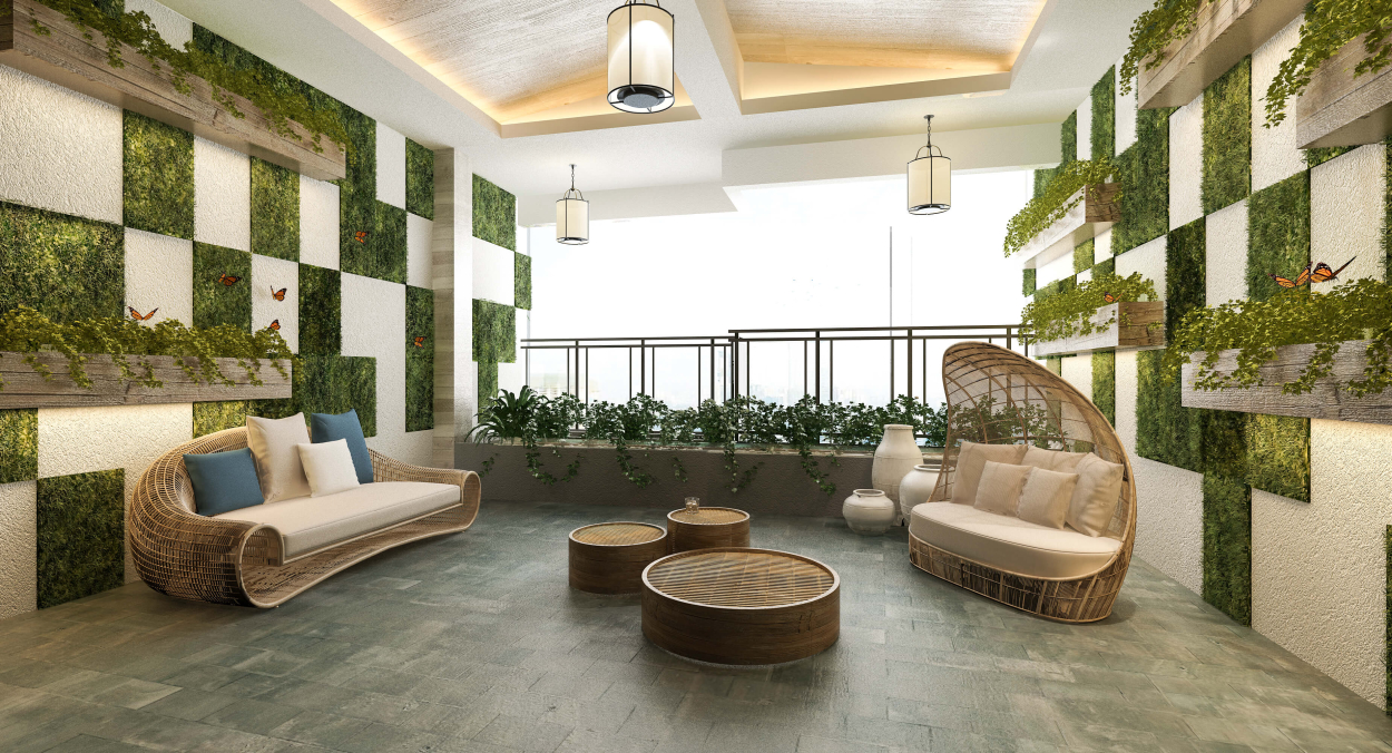 Types of living green walls